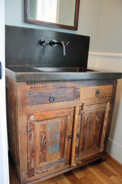 Sinks and Vanities  Eclectic  Bathroom Vanities And Sink