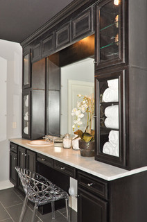 Custom Bathroom Vanity Traditional Bathroom Birmingham By Signature Homes