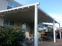 Residential Waterproof Retractable Patio Awning ...