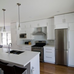 Ikea Kitchen Stools Cost To Update Abstrakt White - Modern Toronto ...