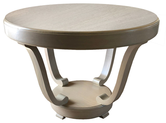 fiore center table w four legs light