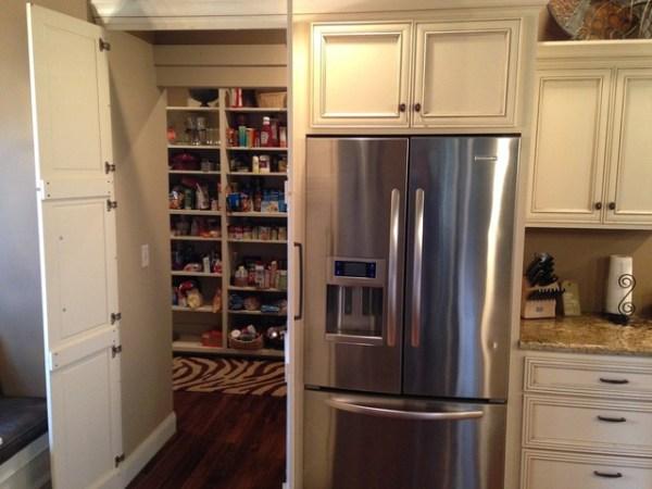 hidden kitchen pantry cabinets Hidden pantry storage - Transitional - Kitchen - Other