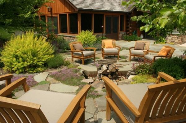 log cabin retreat - traditional