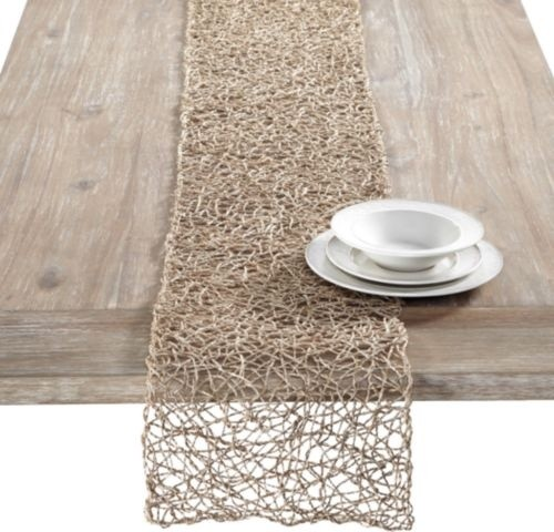 twisted twine table runner