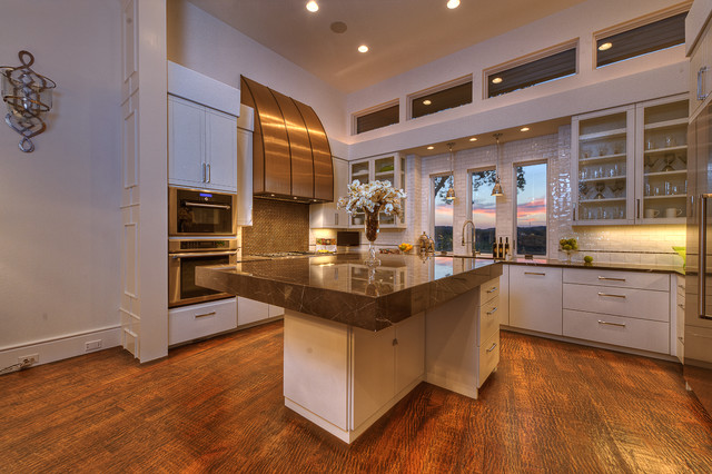 NeoPrairie Style Parade Home  Transitional  Kitchen