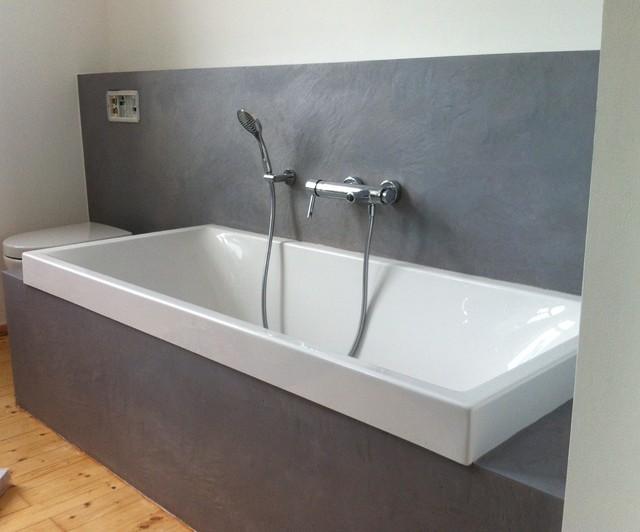 Badezimmer Putz : Fugenlose Bäder In Wasserfestem Putz Modern ...
