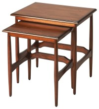 Bryant Mid-Century Modern Nesting Tables - Midcentury ...