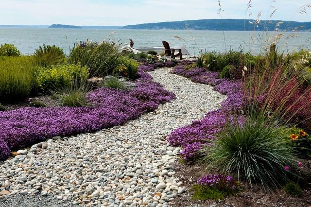 Beach Side Garden Modern Landscape Seattle By Dan Nelson