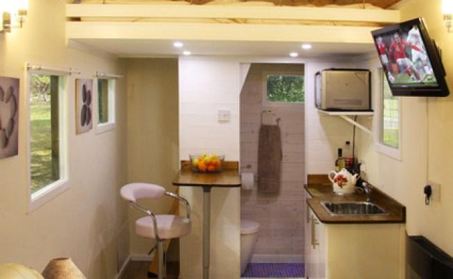 Tiny House On Wheels Internal Modern Living Room