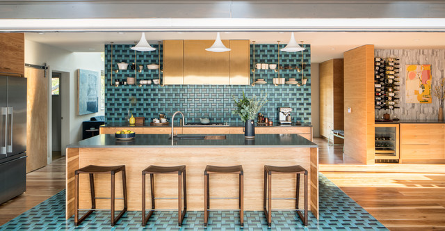 Sunset Idea House 2015 Contemporary Kitchen Denver By