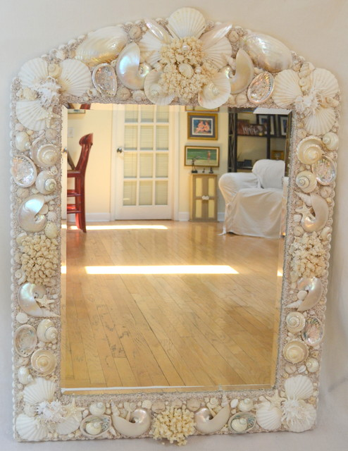 broyhill living room chairs curtains for uk sea shell mirrors - tampa by heather kendall designs