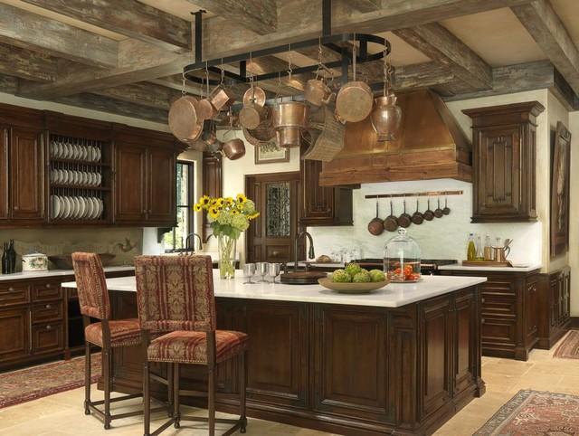 Tuscan Villa  Mediterranean  Kitchen  St Louis  by Amy