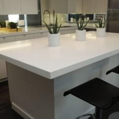 4 Stool Kitchen Island Apple Valley Cabinets Caesarstone Blizzard : 2141 - Contemporary ...