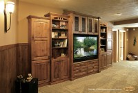 Showplace Cabinets - Family Room - Traditional - Living ...