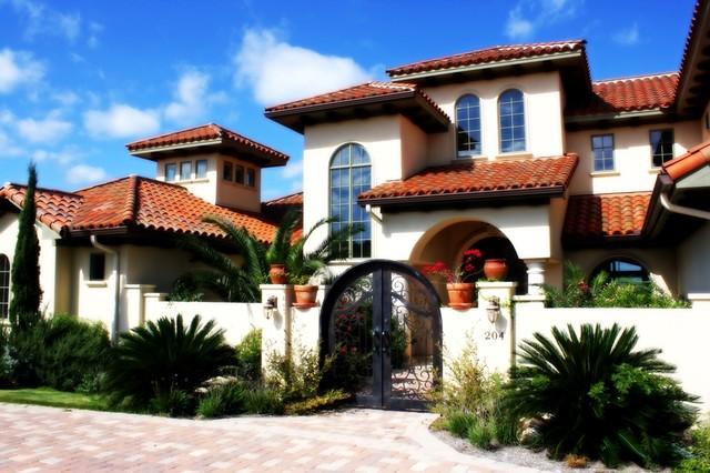 Santa Barbara Style Home Designs Free Image Gallery
