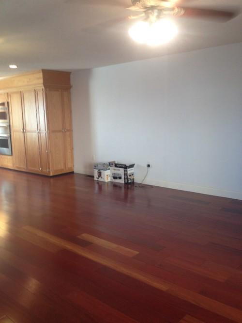 dark grey laminate flooring living room 2 curtain in cherry floors --need wall color help please!!