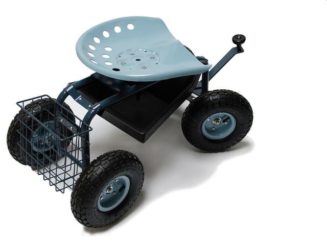 Scoot-N-Steer Rolling Garden Seat