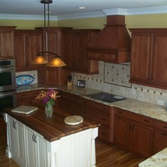 Ikea Kitchen Base Cabinets Sink Cabinet Traditional Cherry With Off White Accent - ...