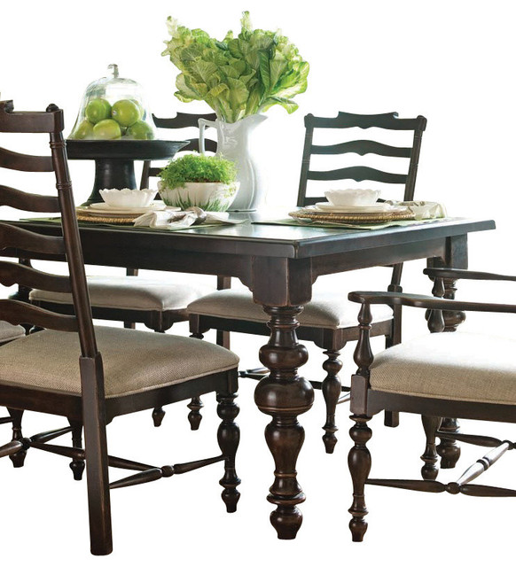 Paula Deen Home Paulas Table Tobacco  Dining Tables  by