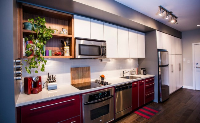 Main St Eclectic Modern Contemporary Kitchen