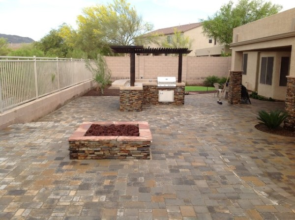 belgard pavers yard patio