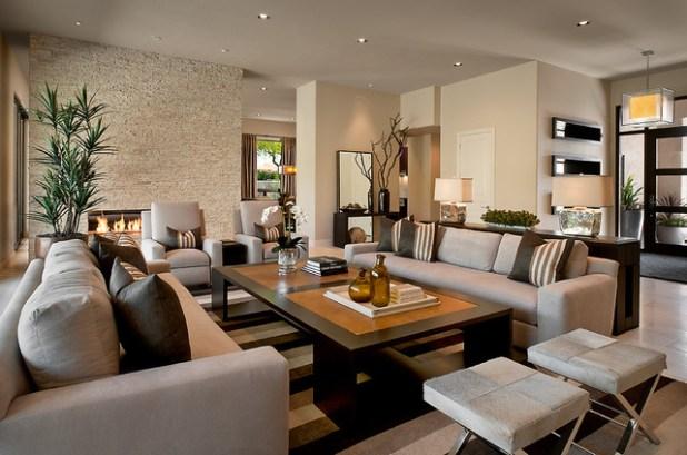 Contemporary Recliner Sofa Houzz Kara Weik 2017 Transitional Living Room