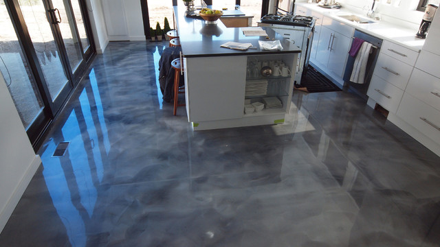 KBS Coatings  Merrit  Contemporary  Kitchen  Vancouver