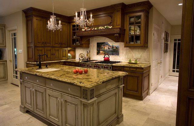 Old English Tudor Kitchen Remodel And Room Addition