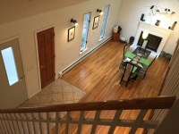 Selling house. Dining table near front door ok?