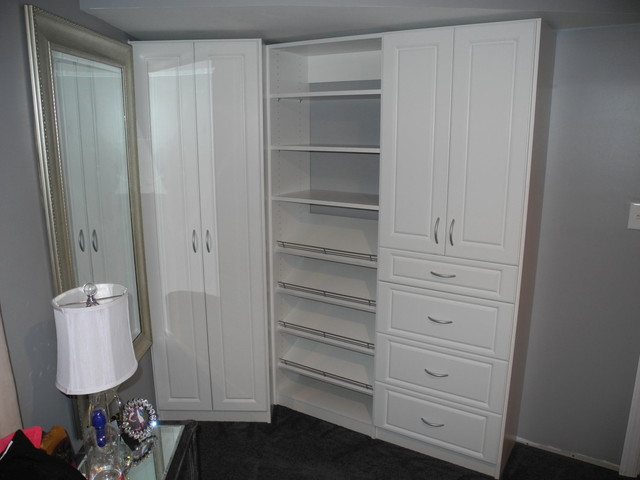 bedroom without a closet - contemporary - closet - newark - by all