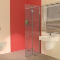 UniClosure 800 Folding Wet Room Shower Screen ...
