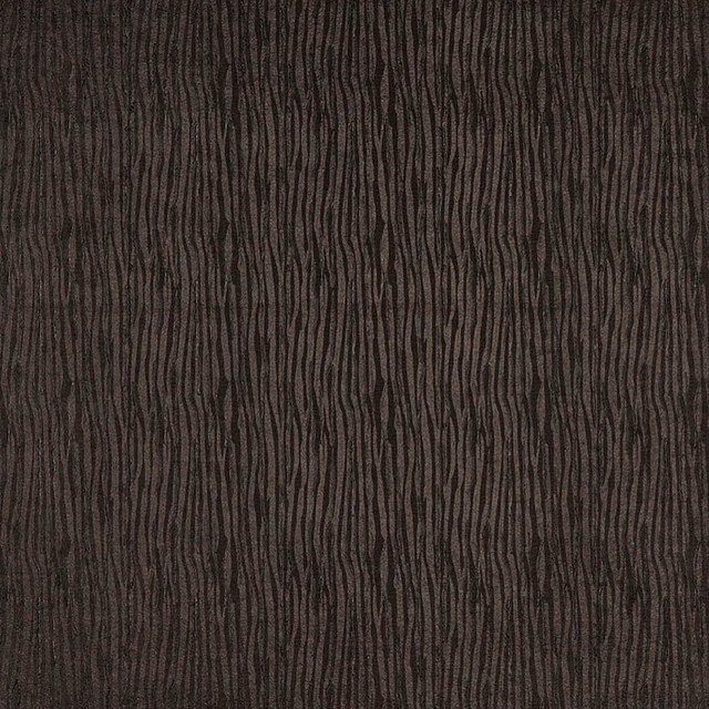 Brown Textured Lined Upholstery Faux Leather By The Yard