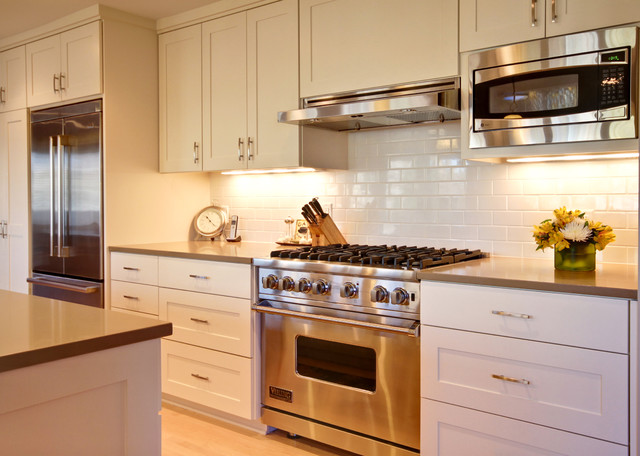 Cooking Center  Contemporary  Kitchen  Minneapolis  by