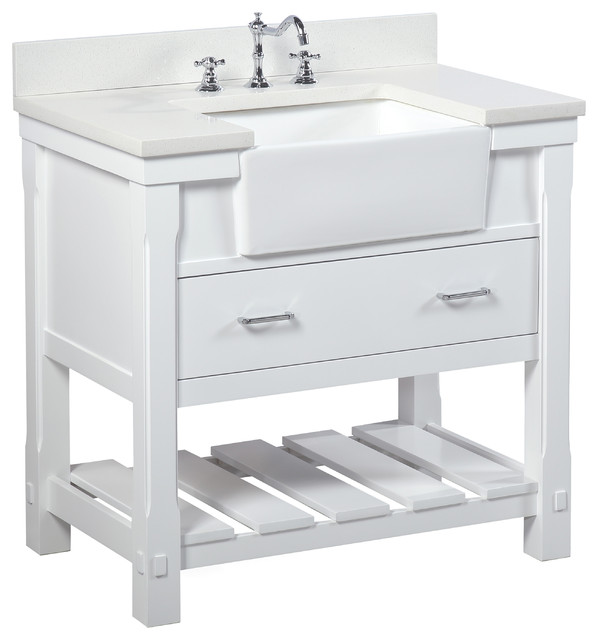 charlotte bathroom vanity - transitional - bathroom vanities and
