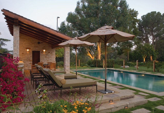 Swimming Pool and Cabana