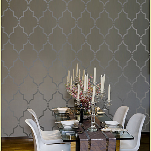 Home Decor Wall Stencils Modern Dining Room New York By