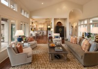 California Contemporary Ranch - Contemporary - Living Room ...