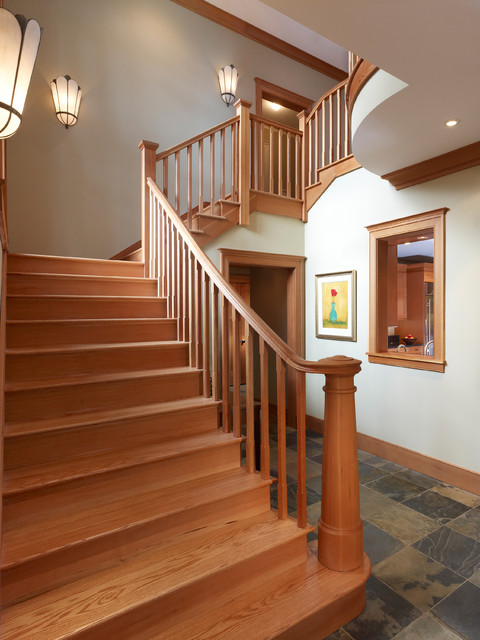 Arts and Crafts  Craftsman  Staircase  dc metro  by