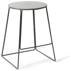 Bar Chairs Concrete Dog Chair Covers Uk Edie Counter Stool Industrial Stools And By Houzz