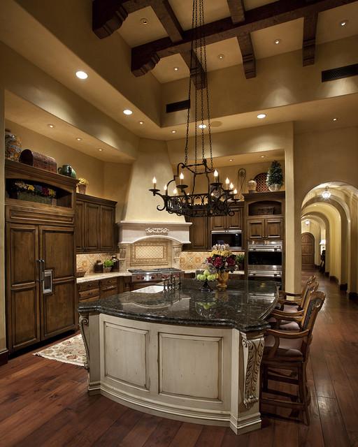Tuscan Kitchen  Mediterranean  Kitchen  Other  by RJ Gurley Construction
