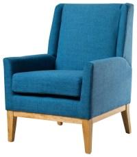 GDFStudio - Kronen Mid Century Design Fabric Accent Chair ...