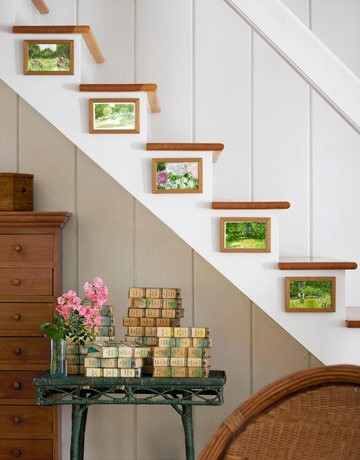 Staircase Wall Decorating Ideas Modern Staircase Other By