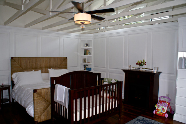 Garage Conversion Into Bedroom Suite Storage Laundry Room Coastal San Diego By Angelica Christi Design