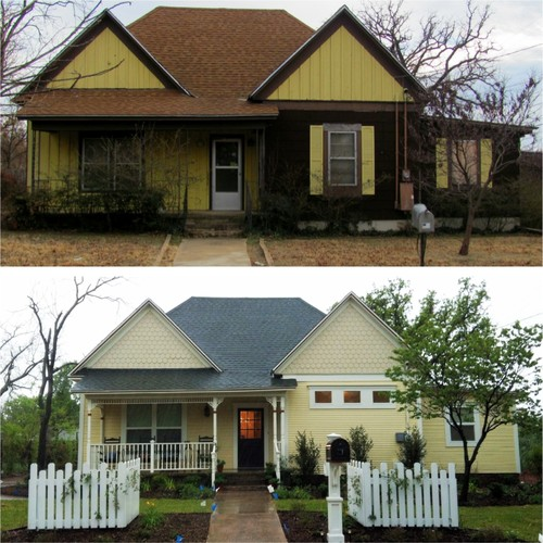 Before And After 100 Year Old House Renovation