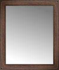 "36"" x 42"" Arqadia Bronze Traditional Custom Framed Mirror ..."