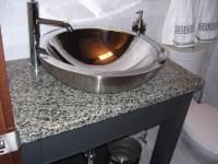 Stainless Steel Vessel Bowl - Modern - Bathroom Sinks ...