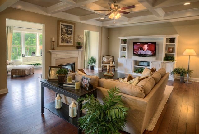 Ashton Woods Atlanta Living Rooms  Traditional  Living