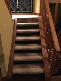 How should I redo carpeted open riser (riser-less) stairs ...