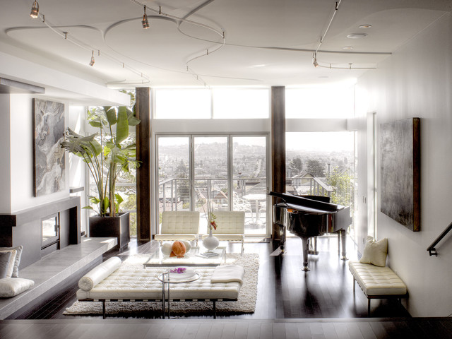 Hoffman St Modern Living Room San Francisco By Ken