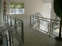 Stainless steel and glass railings - Contemporary ...